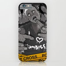 I Heart Zombies iPhone 6s Slim Case