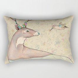 ...tener un bosque dentro. Rectangular Pillow