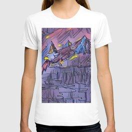 """Lake Flight"" T-shirt"