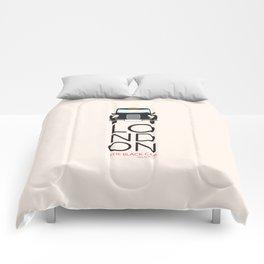 London Inspired: Black Cab Comforters