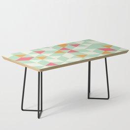 Geometric Mint Pattern Design 014 Coffee Table