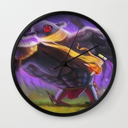 Rapunzel the Monster Slayer Wall Clock
