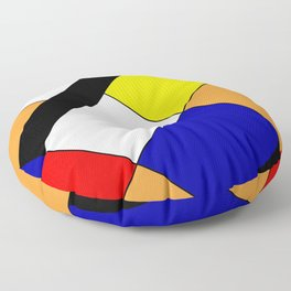 Mondrian #18 Floor Pillow