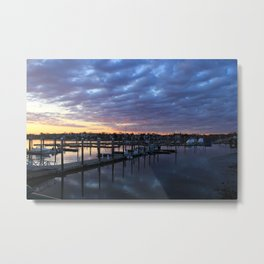 Winthrop Sunset Metal Print