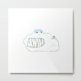 Pal-cloud Metal Print