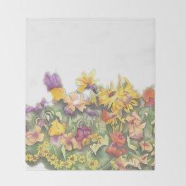 Omega Gardens Throw Blanket