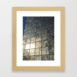 Mirror Glass Framed Art Print