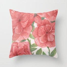 flowersitas Throw Pillow