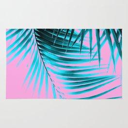 Palm Leaves Summer Vibes #3 #tropical #decor #art #society6 Rug