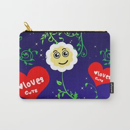 Smiling Daisies Carry-All Pouch