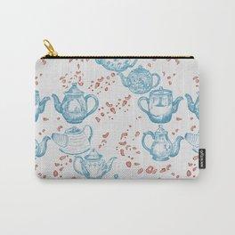 Vintage Teapots Carry-All Pouch