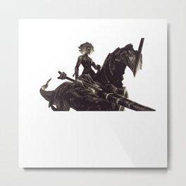 League of Legends Rell Metal Print