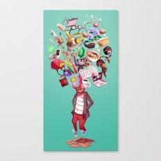 Inner World Canvas Print