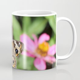 Beautiful Buckeye Butterfly Coffee Mug