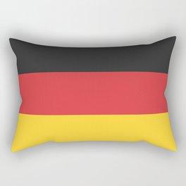 German Flag Rectangular Pillow