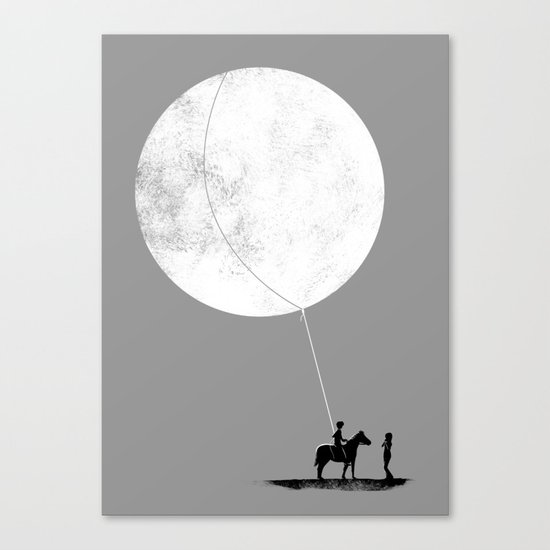 do you want the moon? Canvas Print