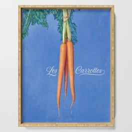 Les Carrottes Serving Tray
