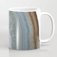 agate Mugs featuring Agate by CAROL HU
