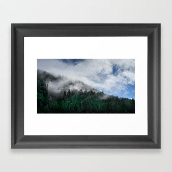 The Air I Breathe Framed Art Print