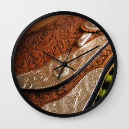 Saddle up Wall Clock
