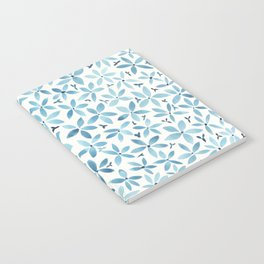 Blue Bouquet Notebook