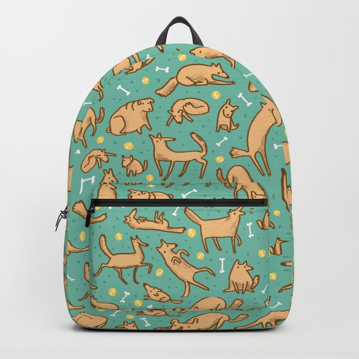 Pup Pattern Rucksack