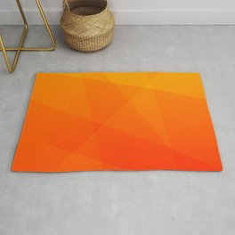 Orange Sunset Rug