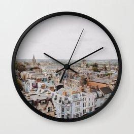 Oxford, England Wall Clock