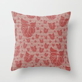 Mosaic of Birds V3 Throw Pillow