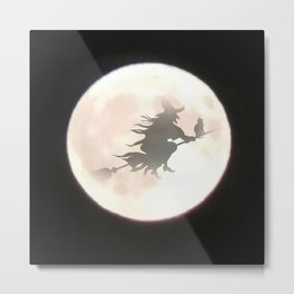 Witch Moon Metal Print