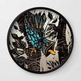 Bird in Trees Wall Clock