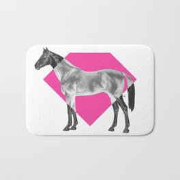 Horse Diamond Bath Mat