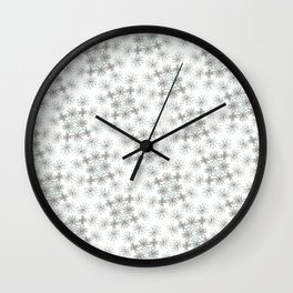 Pattttern Wall Clock
