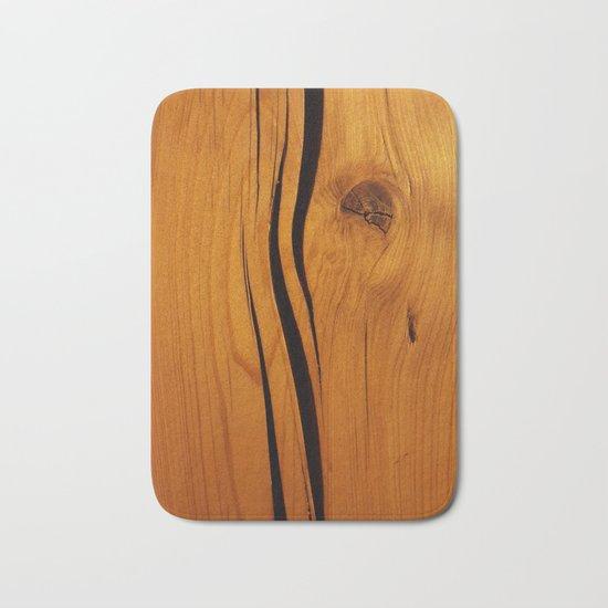 Wooden texture Bath Mat