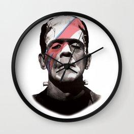 Franken-Bowie Wall Clock