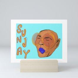 Sunday Swag  Mini Art Print