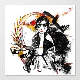 Spanish Girl Canvas Print