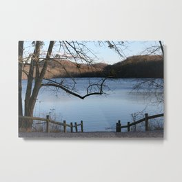 Winter at Radnor Lake Metal Print