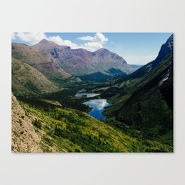 Swiftcurrent Valley Canvas Print