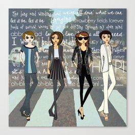 Beatlemania Canvas Print