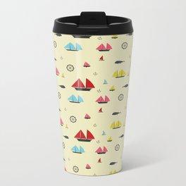 Boats Metal Travel Mug
