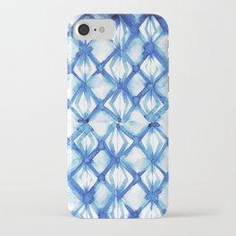 Nautical mermaid scales iPhone Case