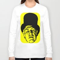 literature Long Sleeve T-shirts featuring Outlaws of Literature (Ken Kesey) by Silvio Ledbetter