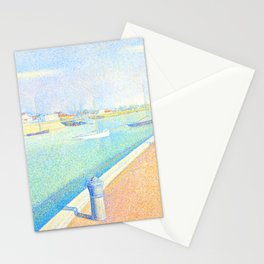 """Georges Seurat """"The Channel of Gravelines, Petit Fort Philippe"""" Stationery Cards"""