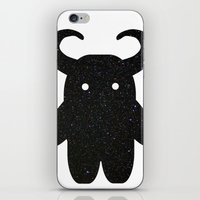 taurus iPhone & iPod Skins featuring Taurus by Leandra Lilly Dreyer