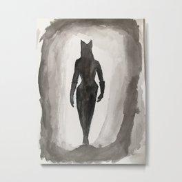 Catwomen Metal Print