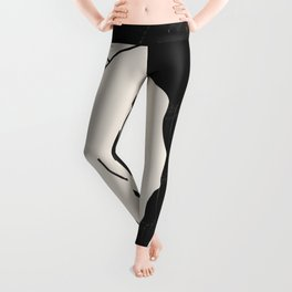 Abstract Art Nude Woman Leggings