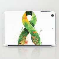 stickers iPad Cases featuring Nature Ribbon by ErDavid