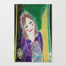Self Love Portrait for Inner Peace  Canvas Print
