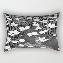 Escher- Three Worlds Rectangular Pillow